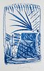 Tragelehn, B. K. Ausreisen. Gedichte. Mit 5 signierten Orig.-Lithographien von Strawalde. Berlin, Ed. Maldoror, 2011. Unpag. Folio. OPp. im OPp.-Schub