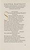 Kleist, Heinrich von Penthesilea. Ein Trauerspiel. Frankfurt, Kleukens-Presse, 1921. (6), 169, (9) S. Handgebundener Originalpergamentband mit Fileten