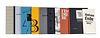 Sammlung von 9 Werken des Leipziger Bibliophilen-Abend, darunter 3 Bde. der Reihe Paradiesische Dialoge. Mit tls. signierten OGraphiken.