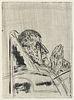 Wielepp, Christoph Monolog Georg Büchner. Mit zwei Orig.-Radierungen von Volker Stelzmann. Leipzig, Edition M, 1992. Folio. 16 S., 1 Bl.OHLwd. im besc
