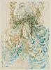 Dante Alighieri La Divina Commedia. Illustrazioni di Dalí. 3 Teile in 6 Bänden. Mit 100 Farbholzstichen nach Aquarellen von Salvador Dali.. (Roma/Fire