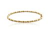 18KT YELLOW GOLD AND CITRINE BRACELET