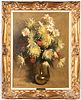Rudy Colao oil on board floral still life