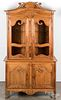 French Provincial pine cupboard, 19th c.