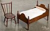 Victorian doll bed