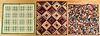 Three Pennsylvania patchwork quilts