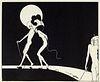 Baudelaire, Charles Die Vorhölle. Eine lyrische Nachlese. Berechtigte Ausgabe. Mit Schwarzweiß-Tafeln von Percy Walter Wolff. Berlin, Oesterheld, 1911