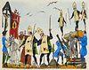 Voltaire Candide. illustré par Henry Lemarié. Mit 55 pochoir-kolor. Illustrationen. Paris, Cotinaud, Éditions du Rameau d'or, (ca. 1950). 169 S. Handg