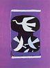Derrière le Miroir Nr. 144-46: Hommage à Georges Braque. Mit 5 (4 farb., 1 doppelblattgr.) OFarblithographien von Miró, Tal Coat, Ubac, Pallut u. Pi