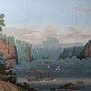 Jean Zuber and Co., Vues d'Amérique du Nord (Views of North America) Panoramic Wallpaper Panels, after Jean-Julien Deltil (1791-1863)