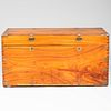 Chinese Export Brass-Mounted Camphorwood Trunk