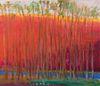 Wolf Kahn - Blue Runs Through It, 2004