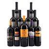 Vinos Tintos de Argentina, Italia y España. a) PV - La leyenda. b) Omnium. c) Finca Sobreño Magnum. d) Trivento. Total de piezas: 11.