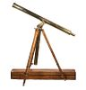 19TH C. BRITISH CASED BRASS ASTROLOGICAL TELESCOPE WITH TRIPOD BY JOHN BROWNING (1835-1925)
