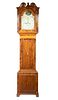 PERIOD ENGLISH CHIPPENDALE TALL CLOCK BY BEAVER OF WAKEFIELD