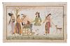 (8) 17TH-18TH C. INDIAN PAINTINGS IN BINDER, LOOSE