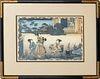"Utagawa Kunisada Woodcut #37 from ""Magic Lantern"""