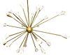 Italian Mid-Century Sputnik Pendant Chandelier