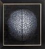 "Alexie Sundukov Surrealist ""Brain"" Oil on Canvas"