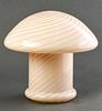 Murano Glass Mushroom Lamp