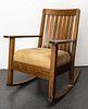Stickley / Mission Style Oak Rocking Chair