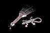Armand American Horse Silver Peyote & Lizard Pins