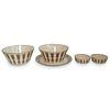 (5 Pc) Lenox Porcelain w/ 24K Gold Grouping Set