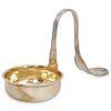 Silver Bent Twist Handle Ladle