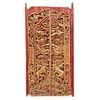 Thai Carved Wooden Window Shutters