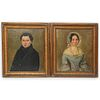 (2 Pc) Pair of Victorian Portrait Paintings