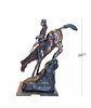 Mountain Man, A Large & Heavy Remington Bronze Statue