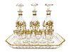 19th C. French Saint Louis Crystal Liqueur Set
