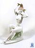 Bather Lady, A Vintage Aquincum Porcelain Figurine