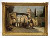 Etienne Dinet (1861-1929) Orientalist Painting