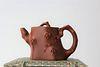 A Chinese Wangyinxian Zisha Plum Teapot