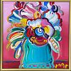 Peter Max Abstract Flowers Ver. XII 126