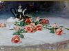 Pino Long Stem Lovelies Giclee On Canvas Embellished