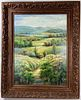 A Big Oil Painting On Canvas Signed and Framed