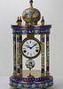 A Vintage Cloisonne Enamel Clock