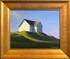 "Joan Albaugh Oil on Panel ""Greener Pastures"""