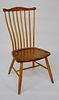 Stephen Swift Cherry 8-Spindle Pomphret Side Chair