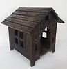 19th Century Carved Black Forest Dog House