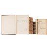 Boor, J. / Rafael, Rafael de. / Clavel, F. T. B. / Taxil, Leon. Libros sobre Masonería. Piezas: 5.
