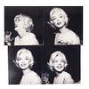 Marzano, Mario. Marilyn Monroe México, 1962. Impresiones digitales, 30.5 x 30.5 cm. Cada una con sello de propiedad al reverso. Pzs: 4.