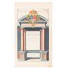 Blaeu, Ioannem. Theatrum Orbis Terrarum, sive Atlas Novus. Pars Secunda. Amsterdami, 1645. Grabado coloreado, 41 x 24.5 cm.