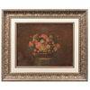ANÓNIMO. Bouquet. Óleo sobre tela. Enmarcado. 40 x 53 cm