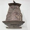 Antique cast iron rock-a-bye-baby COIN BANK