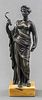 Grand Tour Patinated Bronze Sculpture of Ceres