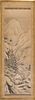 Japanese Ink on Paper Scroll Painting