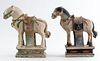Chinese Ming Pottery Horses